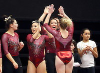 Stanford Gymnastics W vs Washington, February 5, 2017