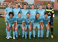 20170414 - Zulte , BELGIUM :  AA Gent's team pictured during the soccer match between the women teams of Zulte Waregem and AA Gent Ladies , in the semi final matchday of the Belgian CUP - Beker van Belgie voor Vrouwen competition on Friday 14th April 2017 in Zulte .  PHOTO SPORTPIX.BE DIRK VUYLSTEKE