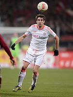 FUSSBALL   1. BUNDESLIGA  SAISON 2012/2013   12. Spieltag 1. FC Nuernberg - FC Bayern Muenchen      17.11.2012 Javi , Javier Martinez (FC Bayern Muenchen)