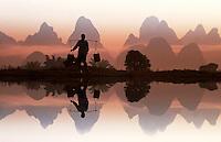 Asia-CHINA-Guilin-Huang-Shan. Photos of Guilin. Images of Huang shan.