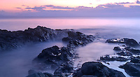 rocks on the senggigi beach. lombok, indonesia