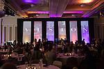 People mingle before Ohio University's 33rd Annual Leadership Awards Gala in Baker Ballroom on April 7, 2016. ©Ohio University/ Photo by Kaitlin Owens
