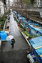 Homeless Dwellings in Miyashita Park in Tokyo