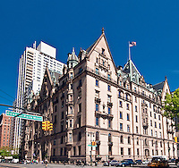 The Dakota, designed by Henry J. Hardenbergh, Upper West Side, New York City, New York