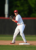 Lake Mary Rams second baseman Chris Ippolito (13) during practice before a game against the Lake Brantley Patriots on April 2, 2015 at Allen Tuttle Field in Lake Mary, Florida.  Lake Brantley defeated Lake Mary 10-5.  (Mike Janes Photography)