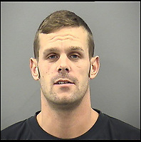 BNPS.co.uk (01202 558833)<br /> Pic:  DorsetPolice/BNPS<br /> <br /> Bradley Van Outen fled the scene of the crash and has now been jailed for 2 years.<br /> <br /> A woman today told of a first date from hell that ended with her being seriously injured, suffering post-traumatic stress, losing her job and her admirer going to jail.<br /> <br /> Carrie-Anne Knox, from Bournemouth, was left lying unconscious and suffering a badly broken arm by Bradley Van Outen who ran away after crashing his car on their date.<br /> <br /> She is still recovering from her injuries eight months later and has lost her job as a hairdresser as a result. Van Outen has been jailed for driving offences.