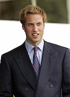 Prince William attends the 2005 Braemar Highland Gathering..Picture: UK Press