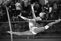 Daria Dmitrieva of Russia performs on way to winning silver in senior All Around at 2011 Holon Grand Prix, Israel on March 4, 2011.  (Photo by Tom Theobald)