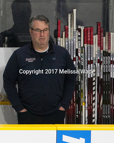 John O'Donnell (Harvard - Equipment Manager) - The Harvard University Crimson defeated the Providence College Friars 3-0 in their NCAA East regional semi-final on Friday, March 24, 2017, at Dunkin' Donuts Center in Providence, Rhode Island.