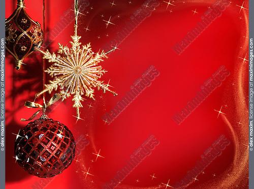Beautiful Christmas decoration artistic still life background