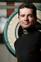 Jockey Kent Desormeaux poses for the photographer  at the race track in Saratoga Springs, NY, USA, 14 August 2006.