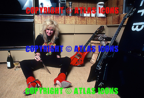 LITA FORD, 1983,  WILLIAM HAMES
