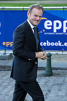 Donald Tusk, lors du Sommet statutaire du Parti Populaire Europ&eacute;en (PPE), &agrave; Bruxelles.<br /> Belgique, Bruxelles, 15 d&eacute;cembre 2016<br /> Donald Tusk attends the  EPP ( European People&rsquo;s Party ) meeting in Brussels.<br /> Belgium, Brussels, 15 December 2016