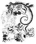 (Chairman Mao lets the Chinese Dragon out of the box)