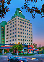 American Broadcasting Company,  (ABC), Burbank, CA, Vertical, Sunset