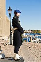 Royal Palace guard, Stockholm, Sweden
