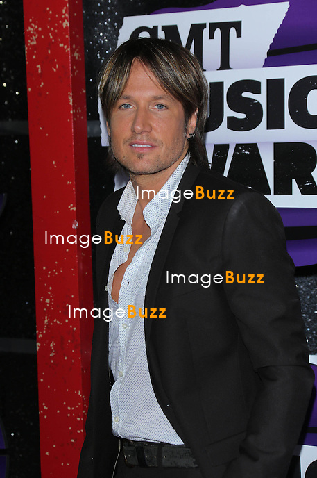 Keith Urban at the 2013 Country Music Awards in Nashville, Tennessee. June 5, 2013.