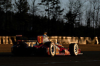20-21 Febuary, 2012 Birmingham, Alabama USA.Helio Castroneves on the last lap of the day.(c)2012 Scott LePage  LAT Photo USA