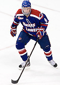 Terrence Wallin (UML - 9) - The Boston College Eagles defeated the visiting University of Massachusetts Lowell River Hawks 6-3 on Sunday, October 28, 2012, at Kelley Rink in Conte Forum in Chestnut Hill, Massachusetts.