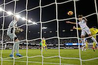 San Jose, CA -- November 10, 2016: The U.S. Women's National team defeat Romania 7-1 in an international friendly game at Avaya Stadium.