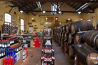 Wine and cava shop inside, Alella, Spain
