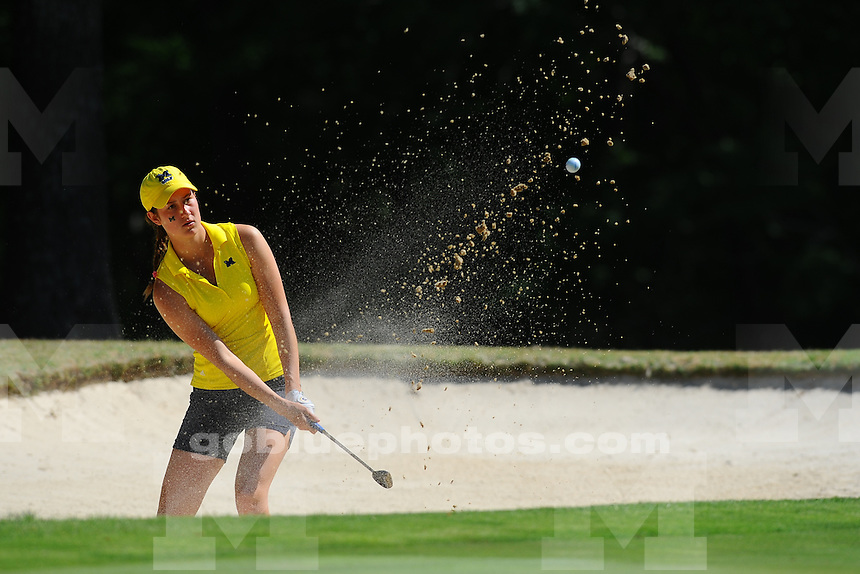 Northwestern holds on as teams compete on the final of the 2016 NCAA Women's Golf Shoal Creek Regional at Shoal Creek Country Club on Saturday, May 07, 2016 in Birmingham, Alabama.