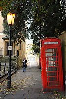 Street scene, Bath, UK, October 19, 2007. The city of Bath is famed for it's hot springs (the only in the UK) and it's Georgian architecture. The city is a UNESCO World Heritage Site.