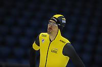 SCHAATSEN: HEERENVEEN: 25-10-2014, IJsstadion Thialf, Trainingswedstrijd schaatsen, Wouter olde Heuvel, ©foto Martin de Jong