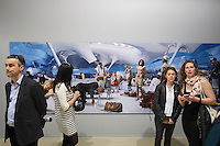 55th Art Biennale in Venice - The Encyclopedic Palace (Il Palazzo Enciclopedico).<br /> Giardini. Venice Pavilion.<br /> AES+F (Russia). &quot;Allegoria Sacra, Panorama #2&quot;.