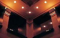 Michael Graves: Portland Building. Detail--Ceiling, Lobby.  Photo '86.