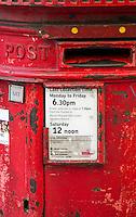 Red Post Box - May 2014.