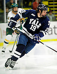 30 November 2009: Yale University Bulldogs' forward Denny Kearney, a Junior from Hanover, NH, in action against the University of Vermont Catamounts at Gutterson Fieldhouse in Burlington, Vermont. The Bulldogs fell to the Catamounts 1-0 in a close rematch of last season's first round of the NCAA post-season playoff Tournament. Mandatory Credit: Ed Wolfstein Photo