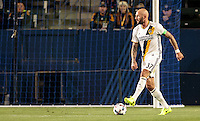 Carson, CA - February 25, 2017: The Portland Timbers defeated the Los Angeles Galaxy 2-1 in a preseason Major League Soccer (MLS) match at StubHub Center.