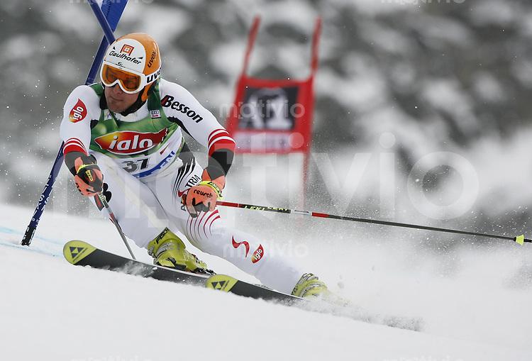 Ski Alpin Weltcup  Saisonauftakt in Soelden , AUT Riesenslalom Herren 28.10.07 LANZINGER, Matthias  (AUT)