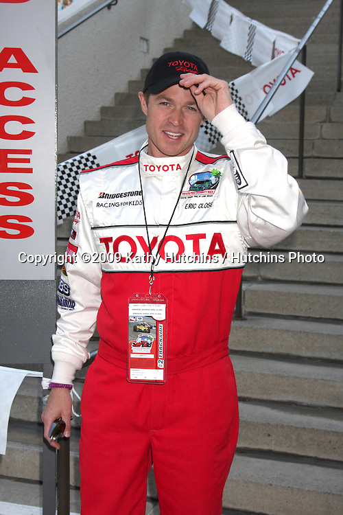 Eric Close at the  Toyota Pro/Celeb Qualifying Day on April 17 ,2009 at the Long Beach Grand Prix course in Long Beach, California..©2009 Kathy Hutchins / Hutchins Photo....                .