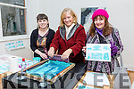 At the Ashe Street Festival on Saturday were Screen Print Artist Edel Wilson, Rose Collins and Anie Mac Fhearghusa.