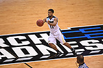 MILWAUKEE, WI - MARCH 16:  Purdue Boilermakers guard P.J. Thompson (11) makes a pass a mid-court during the second half of the 2017 NCAA Men's Basketball Tournament held at BMO Harris Bradley Center on March 16, 2017 in Milwaukee, Wisconsin. (Photo by Jamie Schwaberow/NCAA Photos via Getty Images)