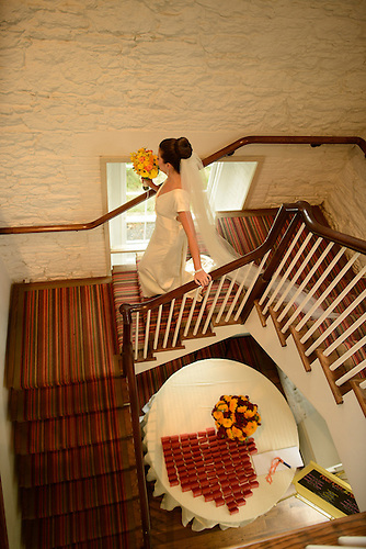Stone Mill Wedding<br /> New York Botaniical Garden<br /> Bride Getting Ready