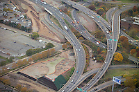 New Haven I-95 I-91 Interchange Pre-Load CT-DOT 92-581 Aerial Photography