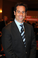Former D.C. United player John Harkes,at the United Kickoff luncheon, at the Marriott hotel in Washington DC, March 5, 2012.