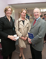 ***NO FEE PIC ***<br /> 11/06/2014<br /> Mikayla Sherlock &amp; Catherine Cosgrove &amp;<br /> Gerry Whyte during The Mercy Law Resource Centre's Annual Report for 2013 at Sophia Housing on Cork Street, Dublin.<br /> Photo:  Gareth Chaney Collins