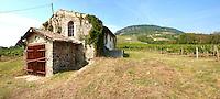 Wine cellar of Badacsony vineyards - Lake Balaton, Hungary