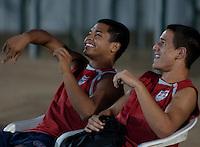 Bryan Duran and Luis Gil. U.S. Under-17 Men Training  Kano, Nigeria