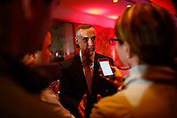 NEW YORK, NY MAY 03: Donald Trump's campaign manager, Corey Lewandowski speaks with members of the media after Trump's victory in the Indiana primary at the Trump Tower in Manhattan on May 03, 2016 in New York City.  Senator Ted Cruz suspended his presidential campaign hours after Trump was declared the winner(Photo by VIEWpress)