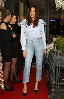 Lisa Snowdon at the Bradley Theodore: Second Coming - VIP preview at the Maddox Gallery Mayfair, Maddox Street, London on April 19th 2017<br /> CAP/ROS<br /> &copy; Steve Ross/Capital Pictures