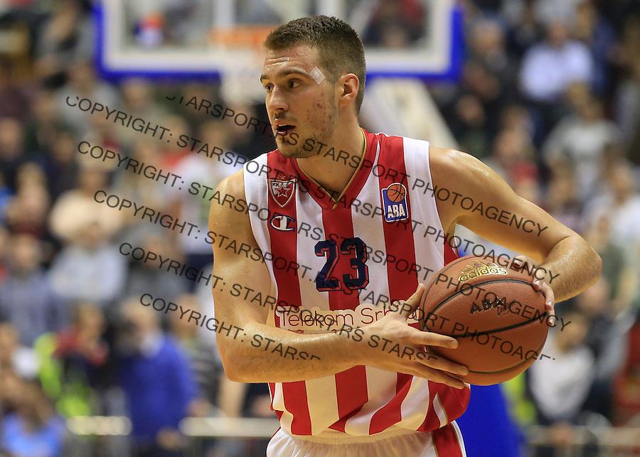 Kosarka ABA League season 2015-2016<br /> Crvena Zvezda v Partizan<br /> Marko Guduric <br /> Beograd, 03.11.2015.<br /> foto: Srdjan Stevanovic/Starsportphoto&copy;