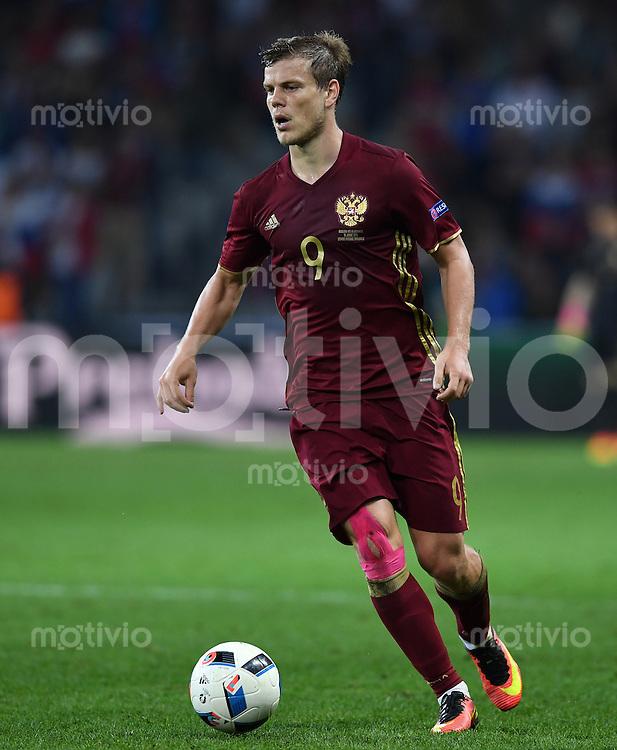 FUSSBALL EURO 2016 GRUPPE B IN LILLE Russland - Slowakei     15.06.2016 Aleksandr Kokorin (Russland)