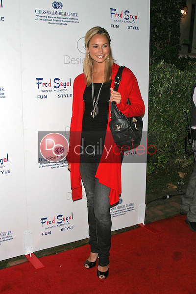 Stacy Keibler<br />at &quot;Design A Cure&quot; hosted by Fred Segal and the Cedars-Sinai Medical Center Women's Cancer Research Institute. Private Location, Brentwood, CA. 10-05-06<br />Dave Edwards/DailyCeleb.com 818-249-4998