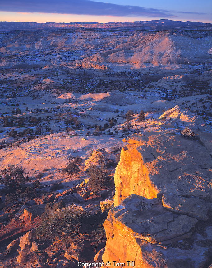 Sandstone Wilds at Dawn, Grand Staircase/Escalante National Monument, Utah