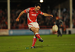 Stephen Jones converts. Scarlets V Bristol, EDF Energy Cup  &copy; Ian Cook IJC Photography iancook@ijcphotography.co.uk www.ijcphotography.co.ukUnholy Alliance Tour 2008,